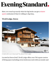 Tivoli Lodge Davos Klosters Luxury Skiing Chalet